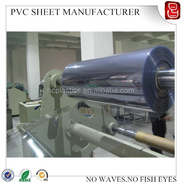 super clear PVC film,transparent PVC film,rigid PVC sheet