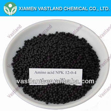 Vastland best composition of organic fertilizer npk 12-0-4