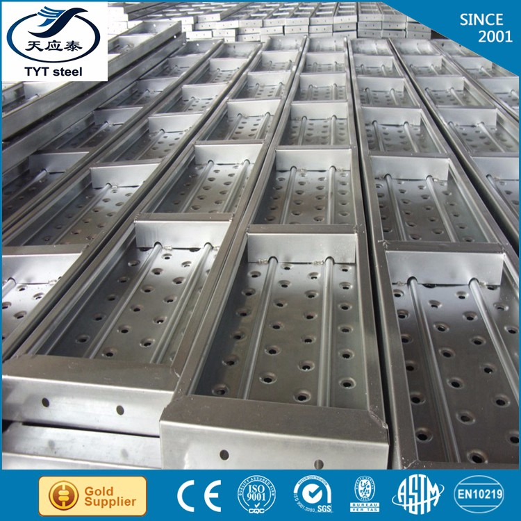 Tyt steel metal perforated scaffolding scaffold plank
