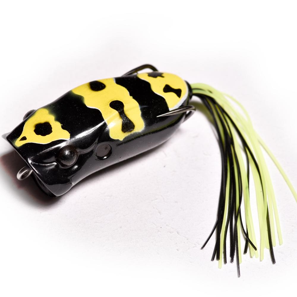 TAKEDO high quality W003 60mm/15g  fishing soft water frog floating bass lure