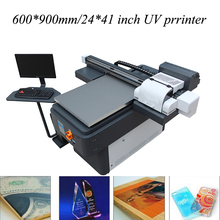 2017 new design cheap price Metal paper leather wood flatbed printer printing machines
