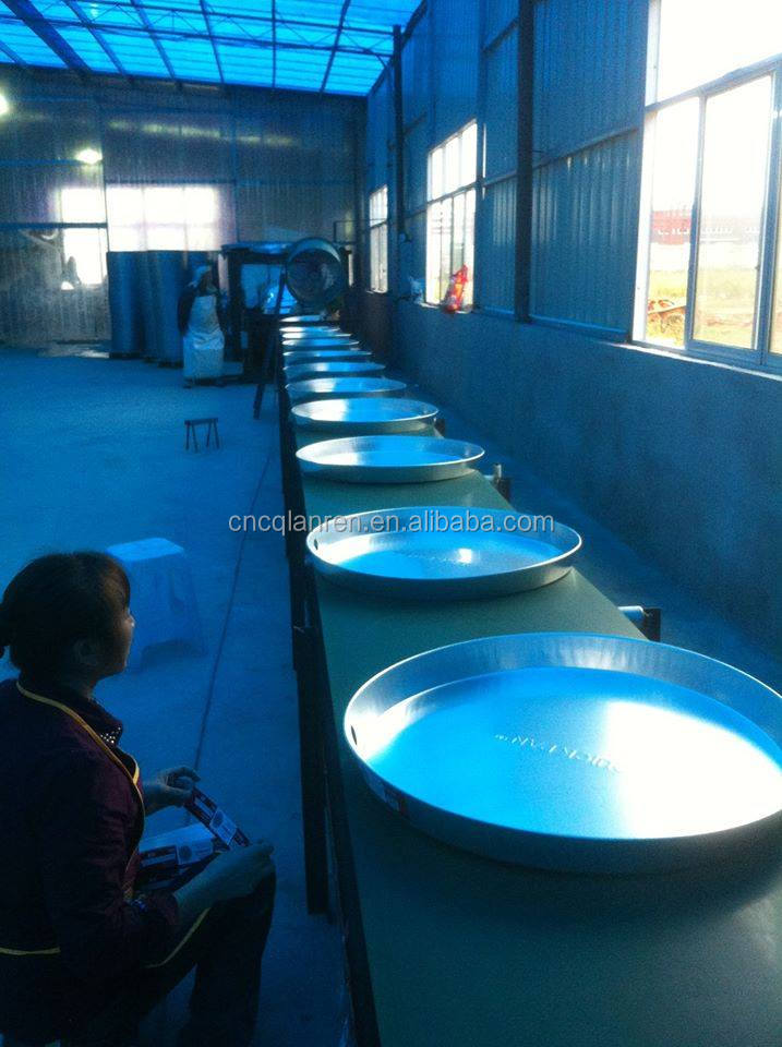 22 inch aluminium water heater pan China round pan