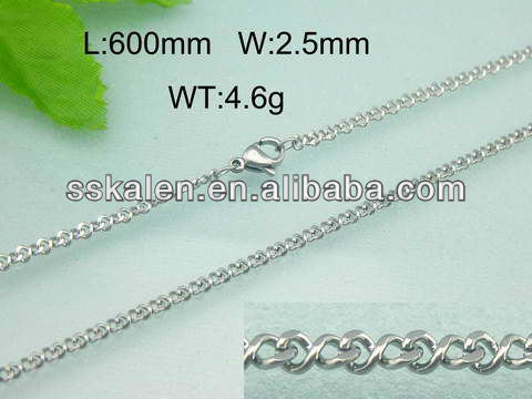 Wholesale Body Jewelry Stainless Steel Small Chain