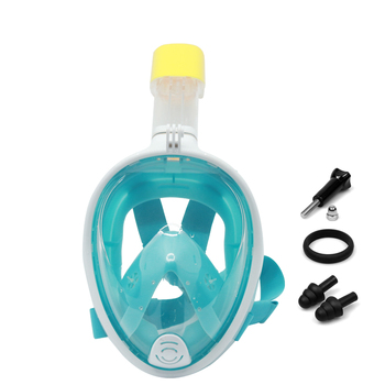 Diving mask and snorkel full face easy breath scuba diving equipment