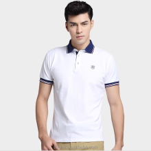 Hight quality 100% cotton new casual shirt short sleeve polo shirt custom polo t shirt for men