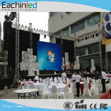 Die Cast Aluminum P6 Indoor LED video display For Rental ! Hanging Systerm