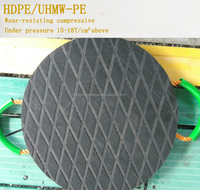 plastic road mat/temporary protective floor covering/portable roadways mats HDPE