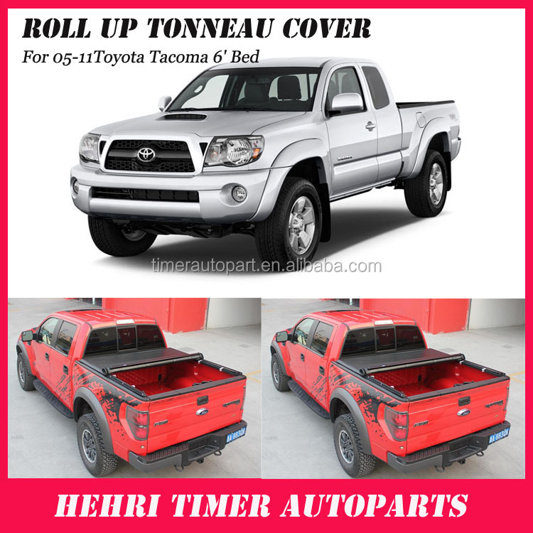 Used toyota pickup cover rolling camper cover for 05-11Toyota Tacoma 6' Bed