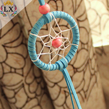 DLX-00011 DIY handmade custom velvet dream catcher for car and home decoration