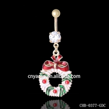 Christmas Ornaments 2016 Garland Navel Jewelry