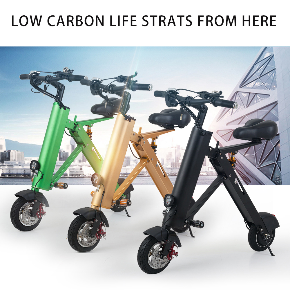 2018 new design model 36V electric scooter 350W fold e scootere bicycle eletric folding bike