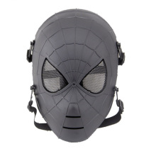 Adult civil war cosplay black spiderman mask