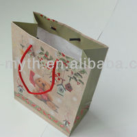 New Style Christmas Paper Bag