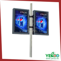 New products!Advertising lamp pole light box use led light for sale