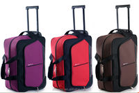 Waterproof wheeled duffle bag with high quality
