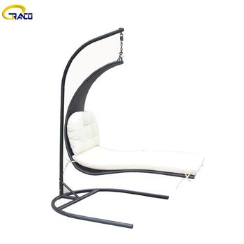 Wholesale outdoor balcony wicker rattan swing chair