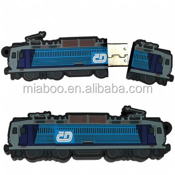Custom made 2D train usb wholesale usb memory stick china, 4gb 8gb 16gb flash drive usb