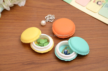 Customized Macarons Type Jewelry Trinket storage Box