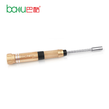 BAKU ba-7276 New product promotional multi 6 in 1 rechargeable torque screwdriver