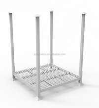 High Quality Iron Stackable Post Pallet Racks For Fabric Roll Storage