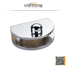 Aluminium glass frameless clamp,glass connector