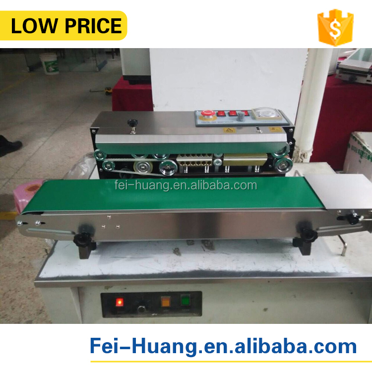 FR -770 continuous automatic plastic film sealing machine