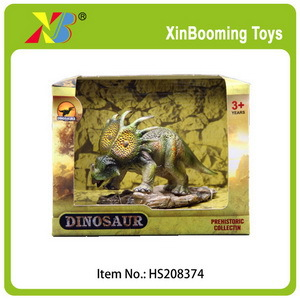 "6"" Soft rubber dinosaur toy"