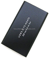 USB3.0 TO mSATA Mini PCI-E SATA SSD Adapter Converter Card External Enclosure Case Cover Box
