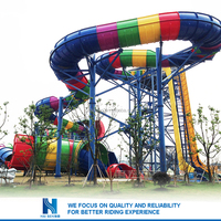 2016 Great Fun quality inflatable water slide for sale