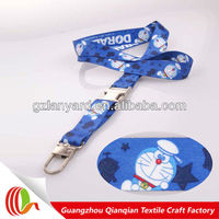 Eco-friendly detachable wholesale bling lanyards