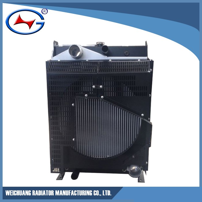 Weichuang aluminum radiator core suppliers LR6A3L-4