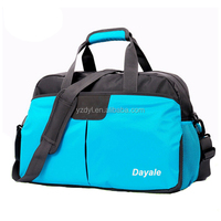 Fancy blue fitness polo classic travel bag
