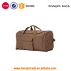 Oem Accept Portable Canvas Travel Duffel Bag For Women And Men Medium Weekend Overnight Bag