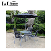 hot sale 6PCS outdoor garden furniture bistro set outdoor dinning table and chair patio set