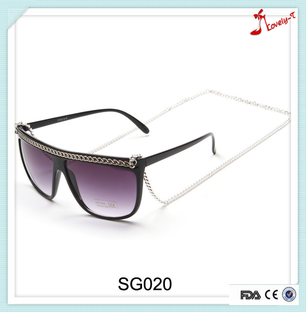 Hot new love frames Personal products eyewear for 2016 with long white K chain