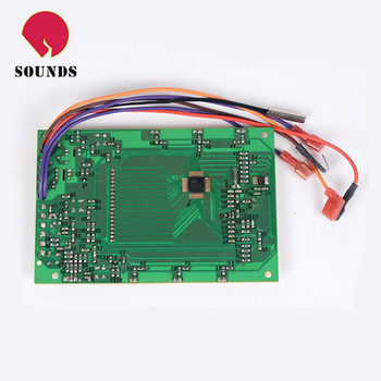 water heater printed circuit board assembly