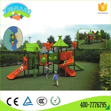 Commercial outdoor play equipment plastic child slide