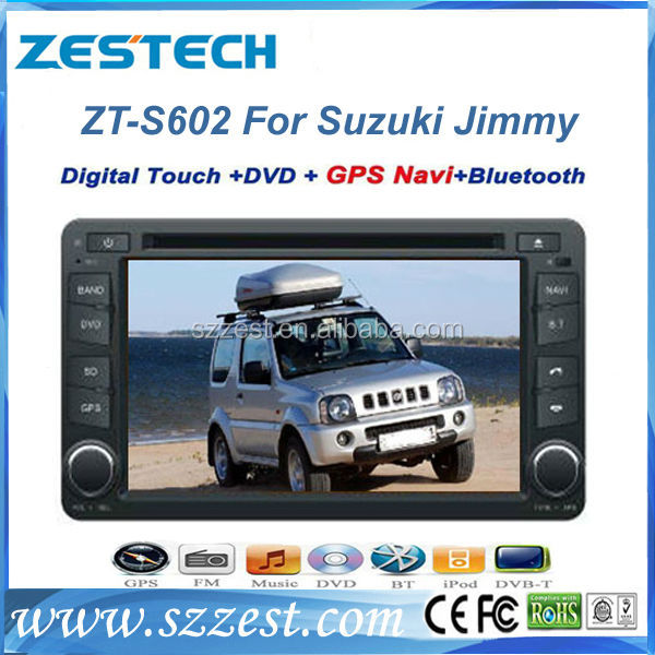 ZESTECH car multimedia navigation system car dvd for Suzuki Jimny car dvd with gps 2 din touch screen