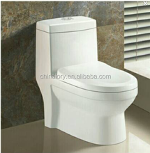 Sanitary ware ceramic one piece wash down toilet for children/kids wc toilet