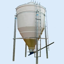Complete Set main Feed Silo line system equipment for broilers