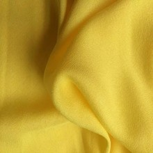 plain dyed solid color crepe viscose 100% rayon crepe fabric for clothing