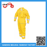 OEM Cheap Fireproof Waterproof Reflective Safet Work Coverall Overall Wholesale