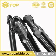 OEM supplied concrete router bit, carbide nano coated hole end mill, carbide hss co8 end mill