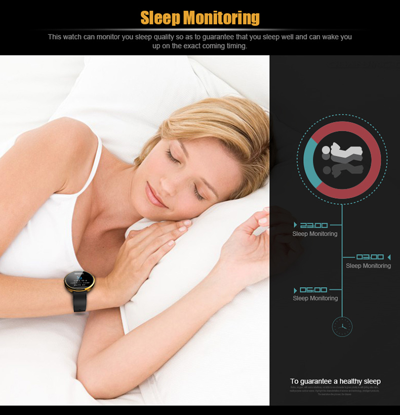 Latest DM360 Bluetooth Watch Support Sleep Monitor watch IP53 waterproof