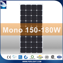 Most efficient wholesale mono crystalline solar panels 150w 170w 18v 36 Cell 156x156