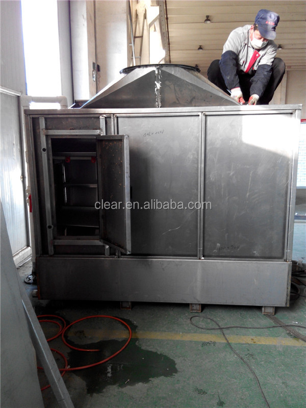 water curtain spray painting booth  water wash spray booth