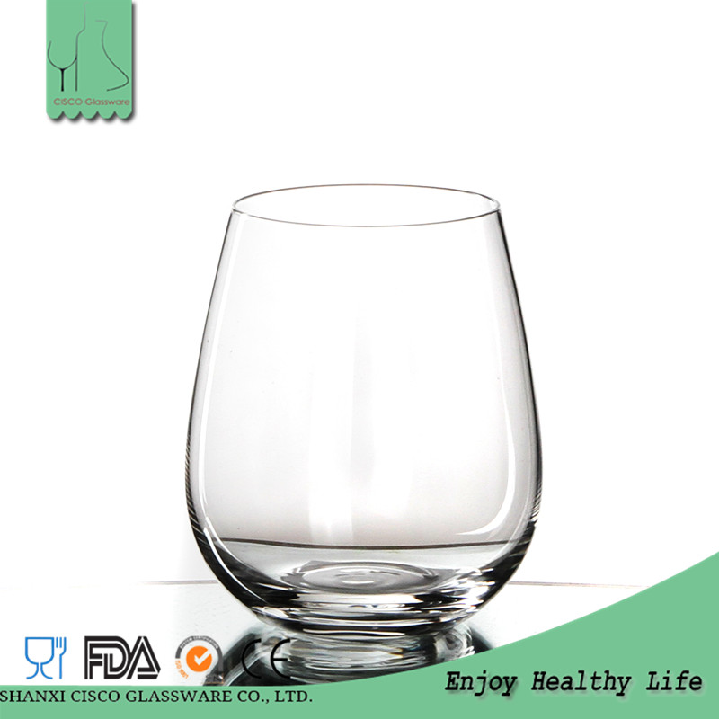 Cisco 2017 Hot Design Custom DK076 Wholesale Drinking Glass With Round Bottom