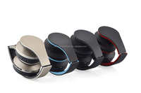 Hot selling wireless FM radio headphone bluetooth stereo headset on selling