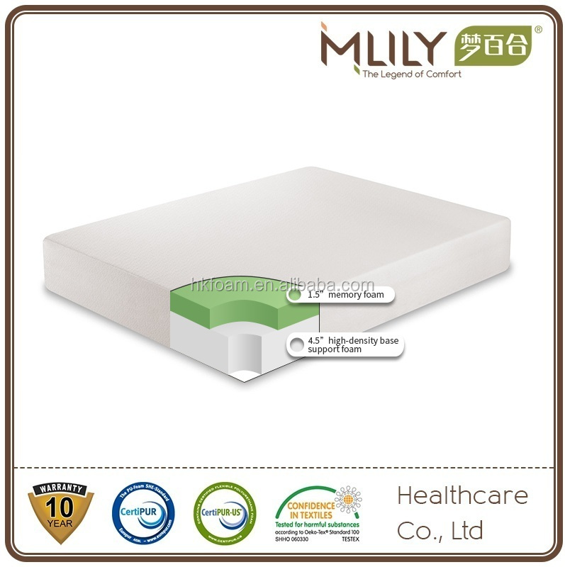 Amazon best selling roll mattress in a box viscoelastic memory foam mattress