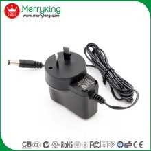 OEM&ODM available 13v 400ma ac/dc power adapter 10W CE/UL/cUL/FCC/SAA/GS/CB/S mark 10W universal travel adapter